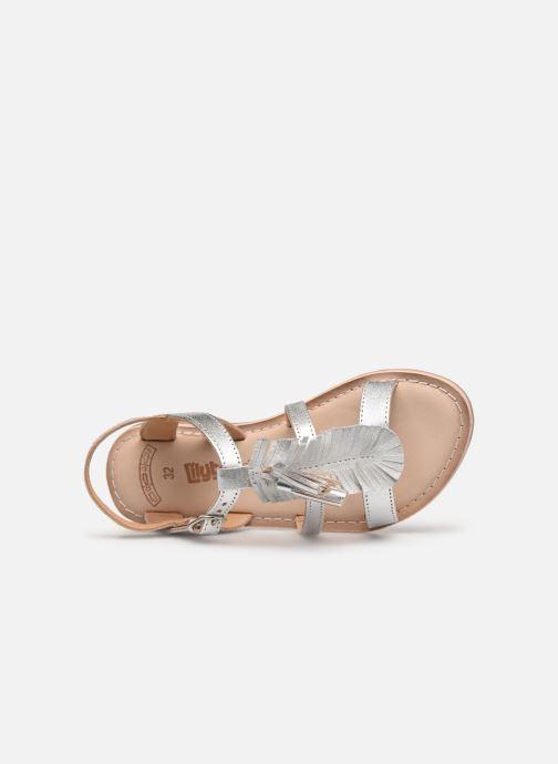 Sandales et nu-pieds Bopy Fitna Lilybellule Argent vue gauche