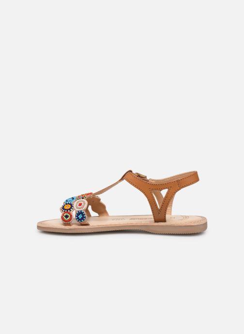 Sandales et nu-pieds Bopy Flipac Lilybellule Marron vue face