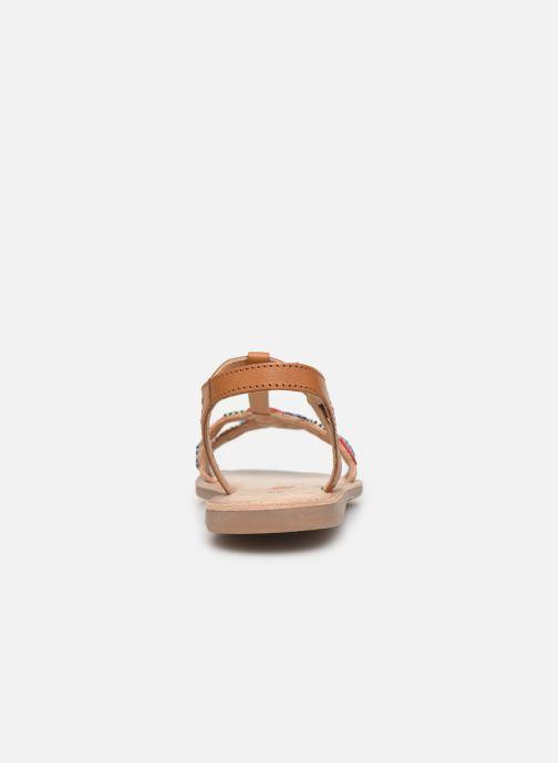 Sandales et nu-pieds Bopy Flipac Lilybellule Marron vue droite