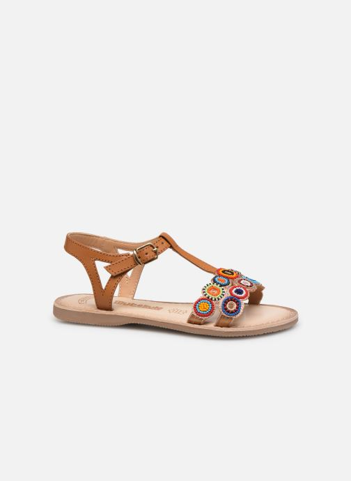 Sandals Bopy Flipac Lilybellule Brown back view