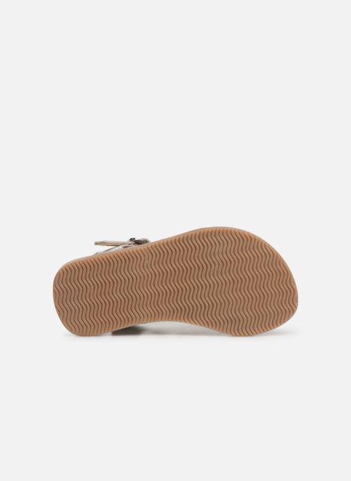 Sandales et nu-pieds Bopy Fripona Kouki Argent vue haut