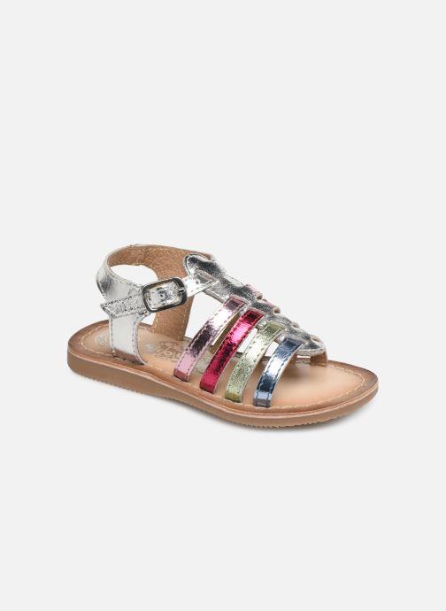 Sandales et nu-pieds Bopy Fripona Kouki Argent vue détail/paire