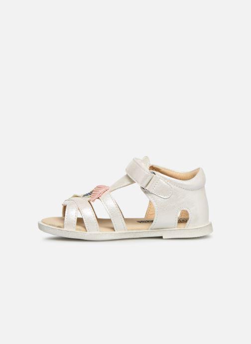 Sandales et nu-pieds Bopy Lifeuille Kouki Blanc vue face