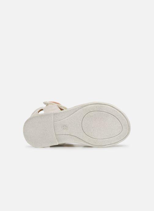 Sandales et nu-pieds Bopy Lifeuille Kouki Blanc vue haut