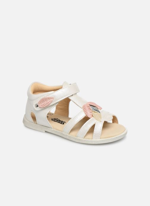 Sandales et nu-pieds Bopy Lifeuille Kouki Blanc vue détail/paire