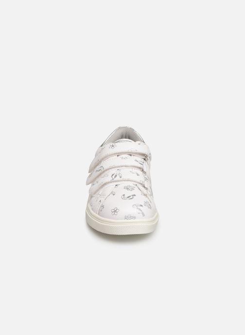 Baskets Bopy Lobrille Lilybellule Blanc vue portées chaussures