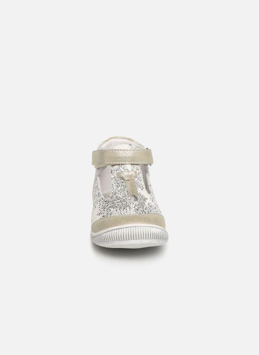 Ballerines Bopy Naeva Kouki Argent vue portées chaussures