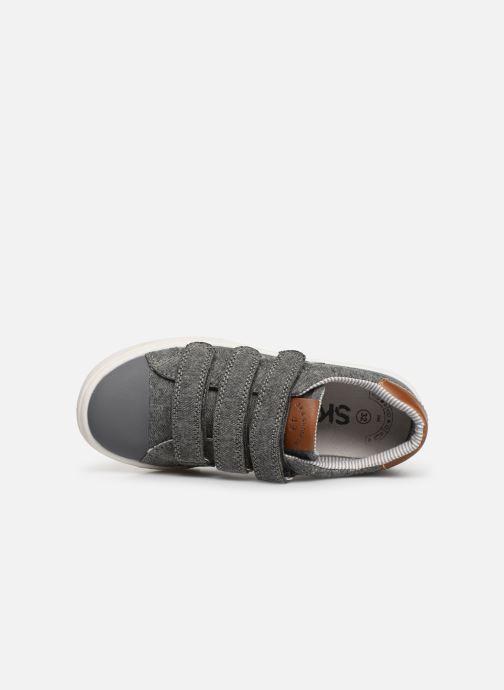 Sneaker Bopy Tamiflu SK8 grau ansicht von links