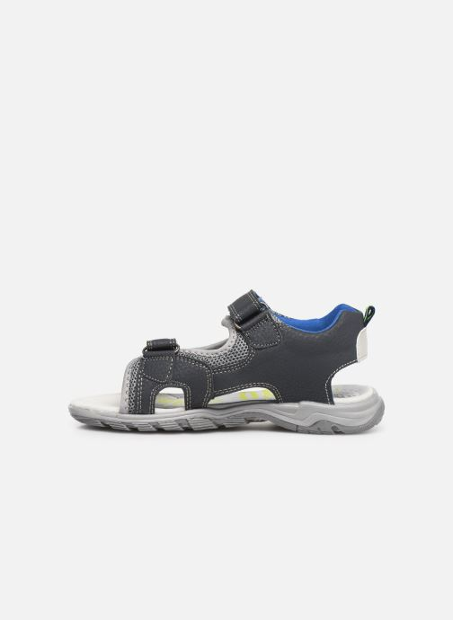 Sandales et nu-pieds Bopy Tchonfi SK8 Bleu vue face