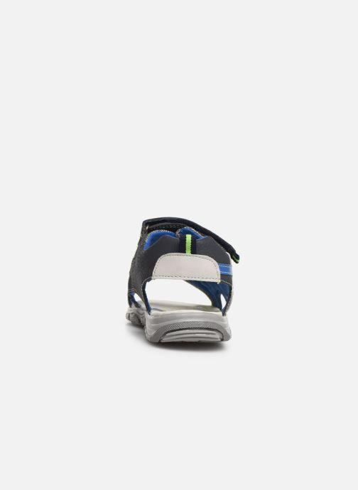 Sandales et nu-pieds Bopy Tchonfi SK8 Bleu vue droite