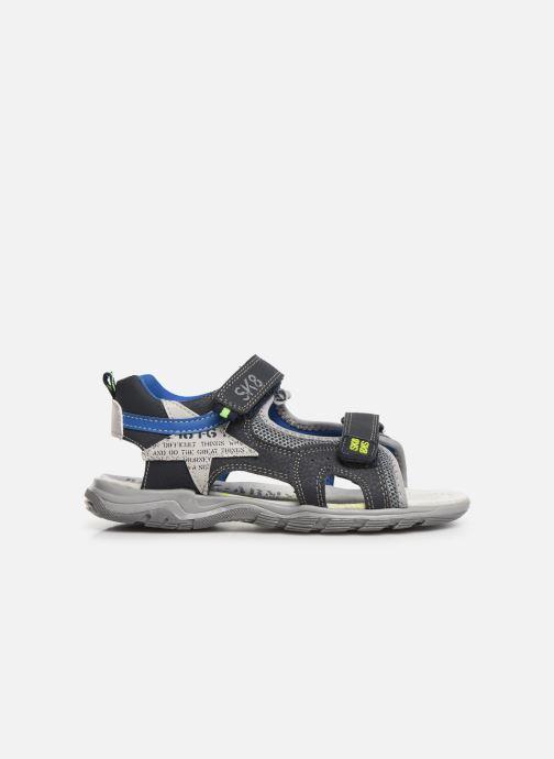 Sandales et nu-pieds Bopy Tchonfi SK8 Bleu vue derrière