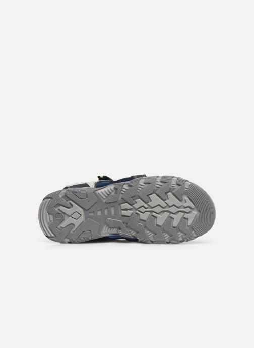 Sandales et nu-pieds Bopy Tchonfi SK8 Bleu vue haut