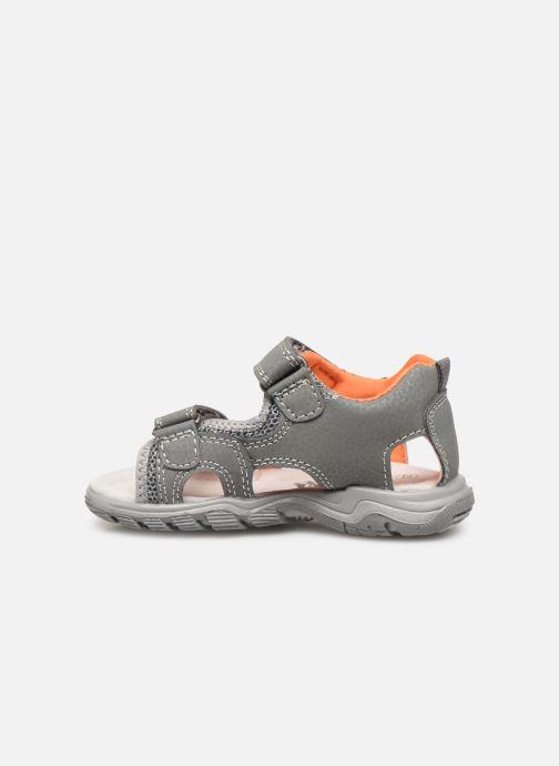 Sandales et nu-pieds Bopy Tchongo Kouki Gris vue face