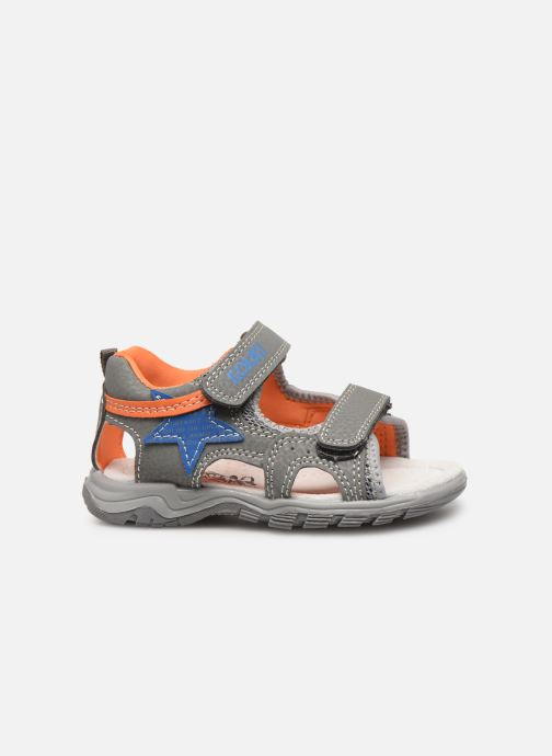 Sandales et nu-pieds Bopy Tchongo Kouki Gris vue derrière