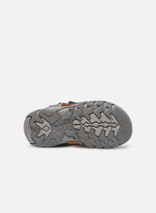 Sandales et nu-pieds Bopy Tchongo Kouki Gris vue haut