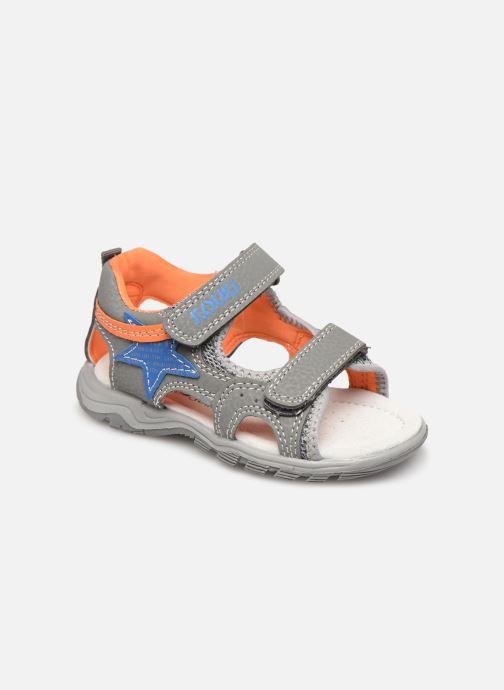 Sandales et nu-pieds Bopy Tchongo Kouki Gris vue détail/paire
