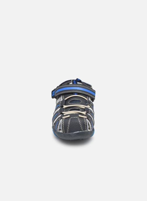 Sandales et nu-pieds Bopy Tiorfan SK8 Bleu vue portées chaussures