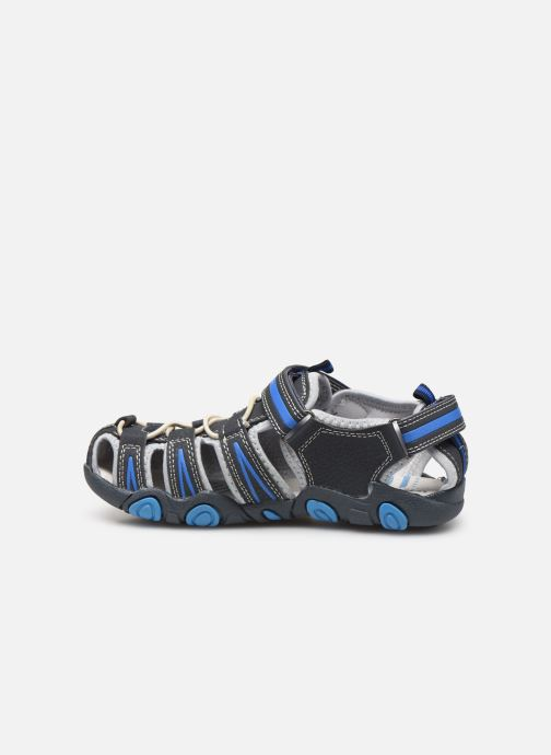 Sandales et nu-pieds Bopy Tiorfan SK8 Bleu vue face