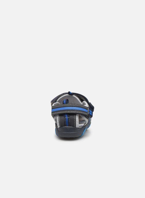 Sandalias Bopy Tiorfan SK8 Azul vista lateral derecha