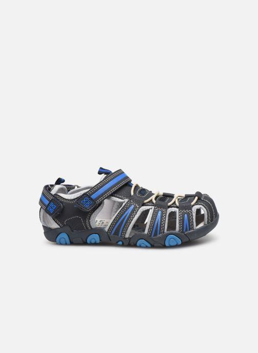Sandales et nu-pieds Bopy Tiorfan SK8 Bleu vue derrière