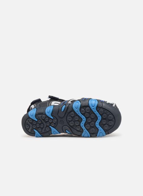 Sandales et nu-pieds Bopy Tiorfan SK8 Bleu vue haut
