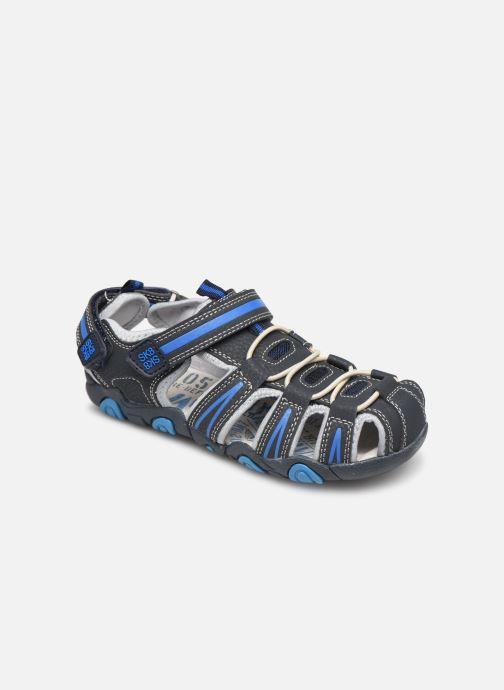 Sandales et nu-pieds Bopy Tiorfan SK8 Bleu vue détail/paire