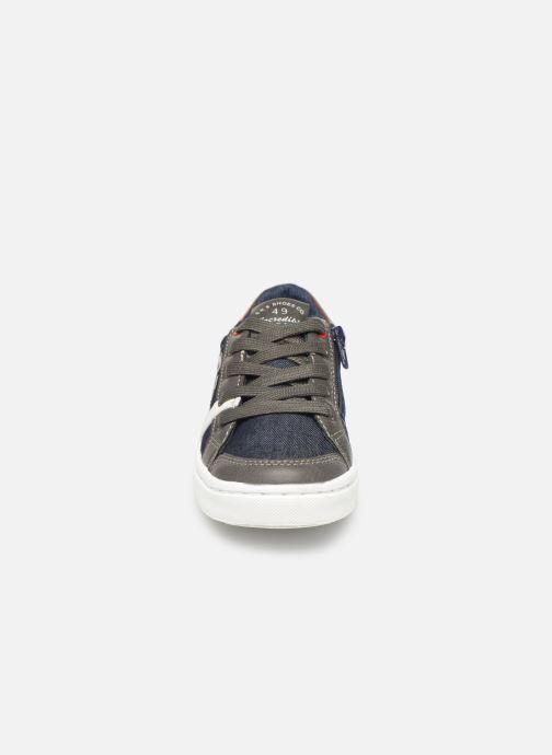 Baskets Bopy Tipiazip SK8 Bleu vue portées chaussures