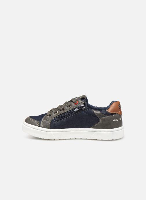 Sneakers Bopy Tipiazip SK8 Blauw voorkant
