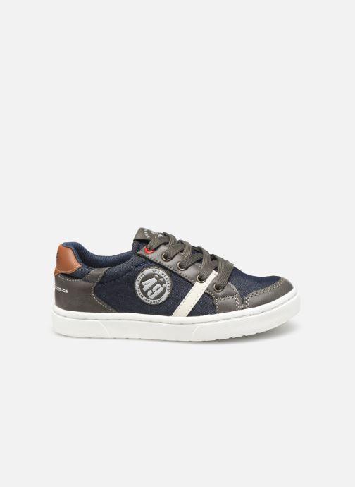 Sneakers Bopy Tipiazip SK8 Blauw achterkant