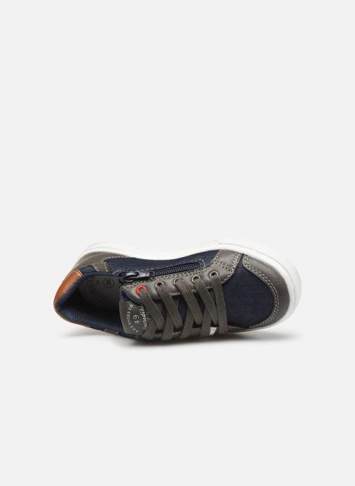 Sneakers Bopy Tipiazip SK8 Blauw links
