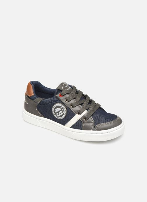check out 10491 ddb91 Baskets Bopy Tipiazip SK8 Bleu vue détail paire