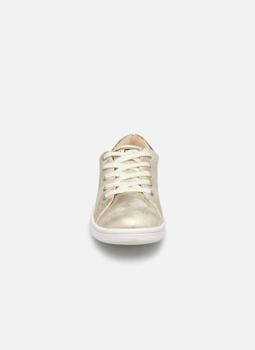 Trainers Bopy Touzac Lilybellule Bronze and Gold model view