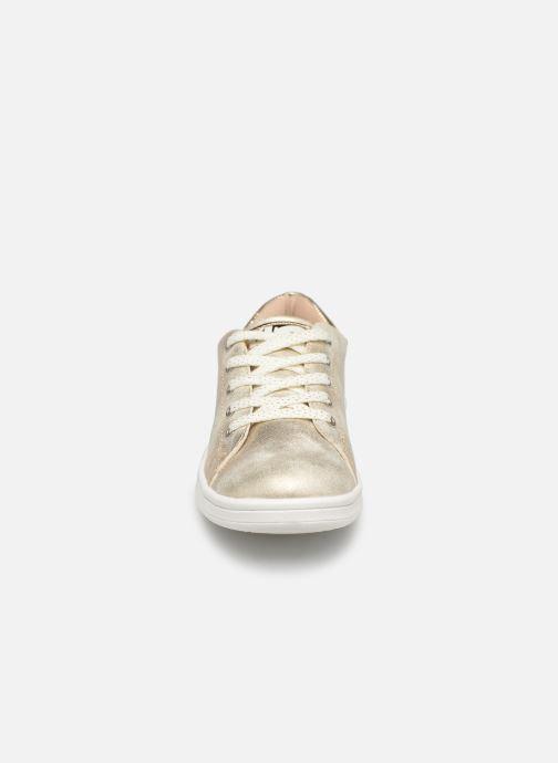 Baskets Bopy Touzac Lilybellule Or et bronze vue portées chaussures
