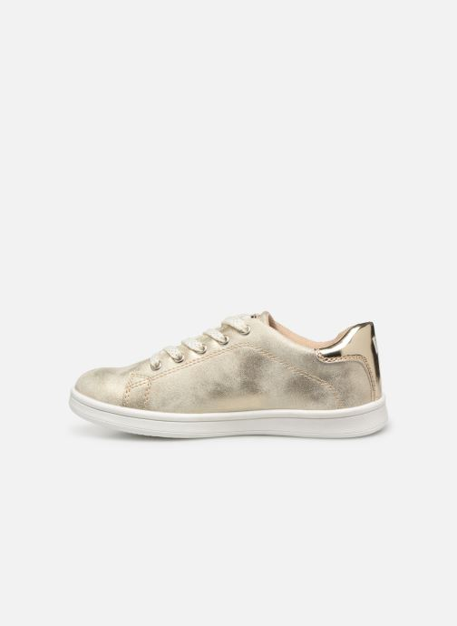 Trainers Bopy Touzac Lilybellule Bronze and Gold front view
