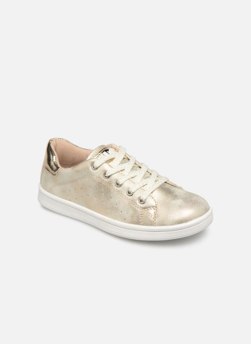 Trainers Bopy Touzac Lilybellule Bronze and Gold detailed view/ Pair view