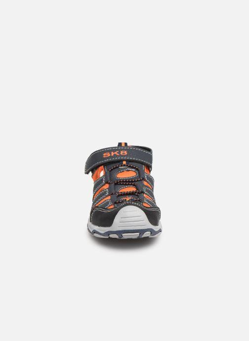 Sandales et nu-pieds Bopy Xopair SK8 Noir vue portées chaussures