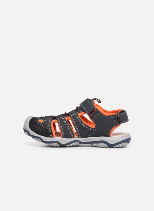Sandales et nu-pieds Bopy Xopair SK8 Noir vue face