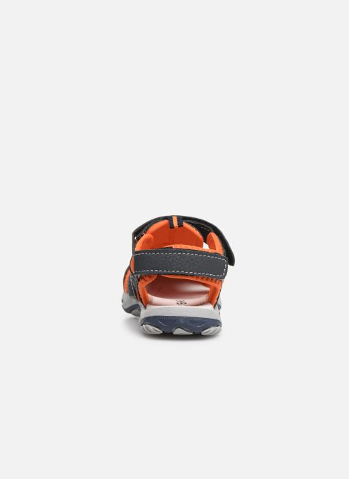 Sandals Bopy Xopair SK8 Black view from the right