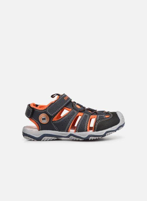 Sandales et nu-pieds Bopy Xopair SK8 Noir vue derrière