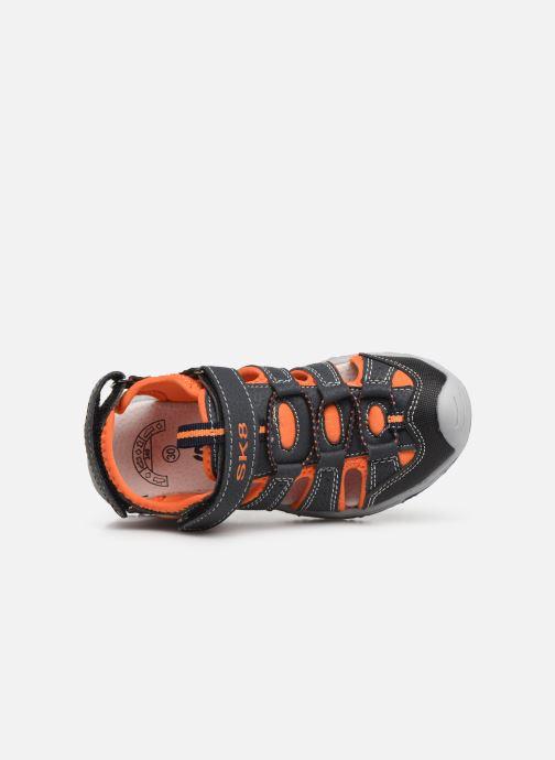 Sandales et nu-pieds Bopy Xopair SK8 Noir vue gauche