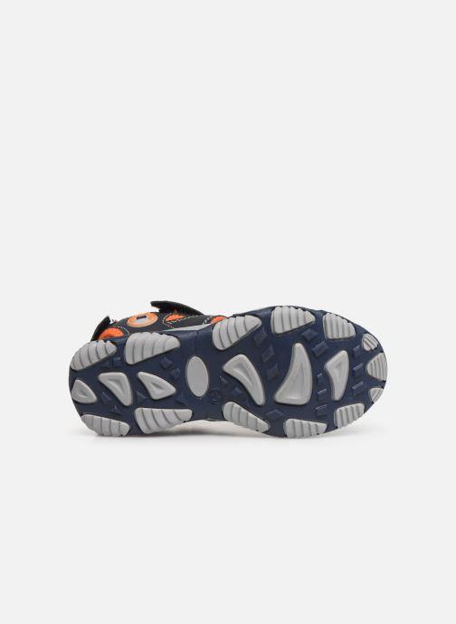 Sandales et nu-pieds Bopy Xopair SK8 Noir vue haut