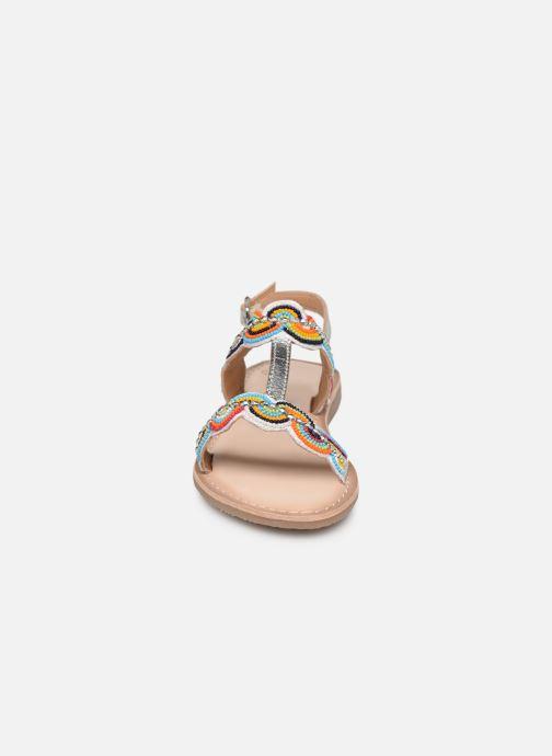Sandales et nu-pieds Bopy Fendala Lilybellule Multicolore vue portées chaussures