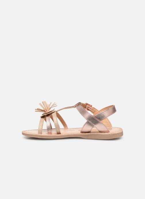 Sandales et nu-pieds Bopy Fifela Lilybellule Rose vue face