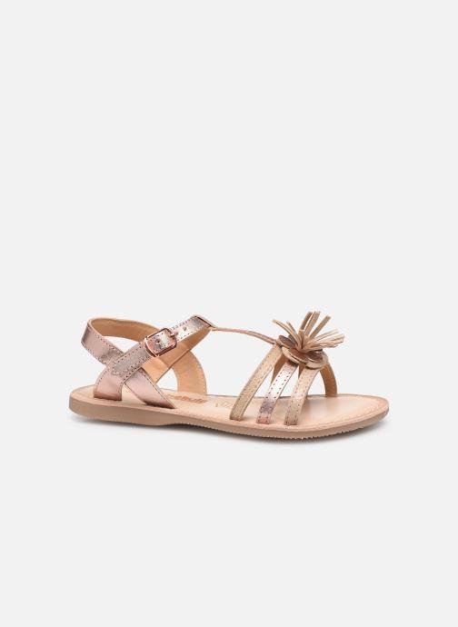 Sandales et nu-pieds Bopy Fifela Lilybellule Rose vue derrière