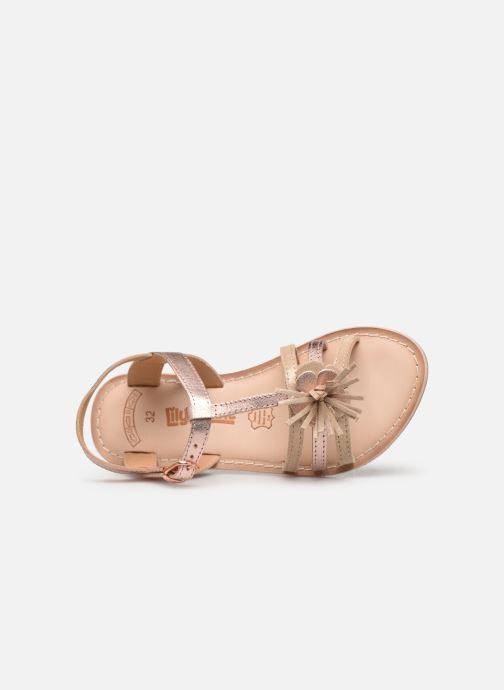 Sandales et nu-pieds Bopy Fifela Lilybellule Rose vue gauche