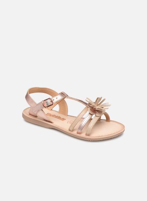 Sandales et nu-pieds Bopy Fifela Lilybellule Rose vue détail/paire
