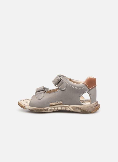Sandales et nu-pieds Bopy Bedec Gris vue face