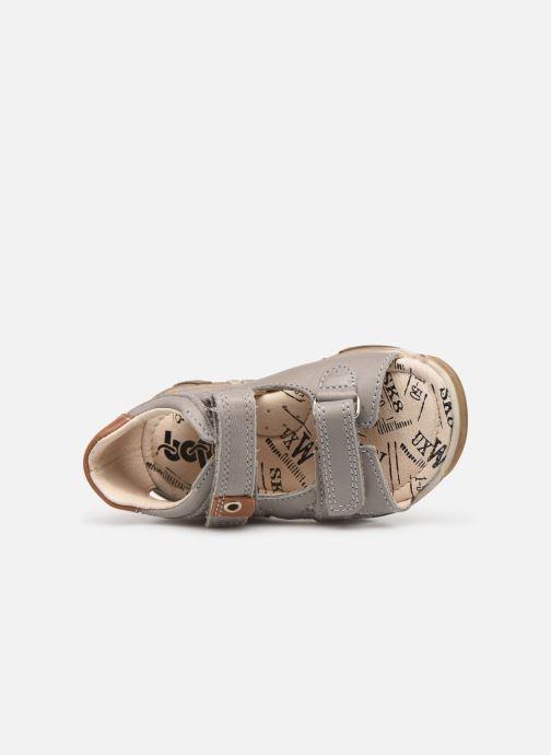 Sandales et nu-pieds Bopy Bedec Gris vue gauche