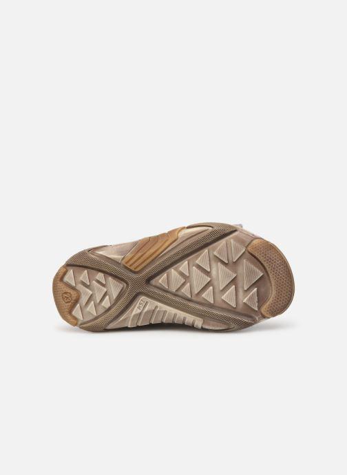 Sandales et nu-pieds Bopy Bedec Gris vue haut