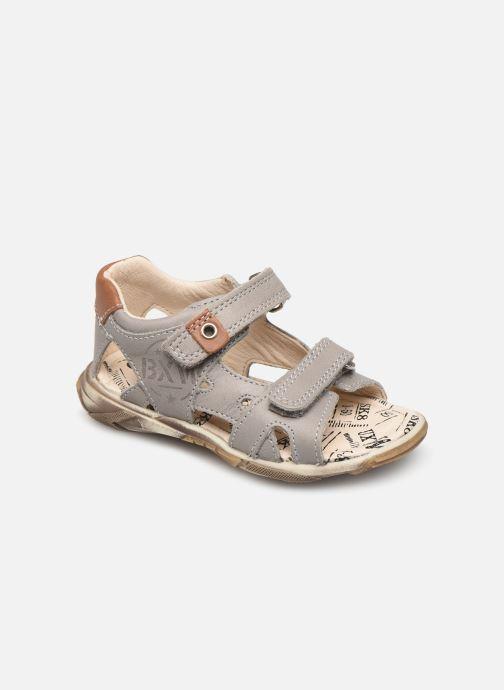 Sandales et nu-pieds Bopy Bedec Gris vue détail/paire